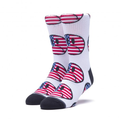 CHAUSSETTES HUF BUMMER WHITE