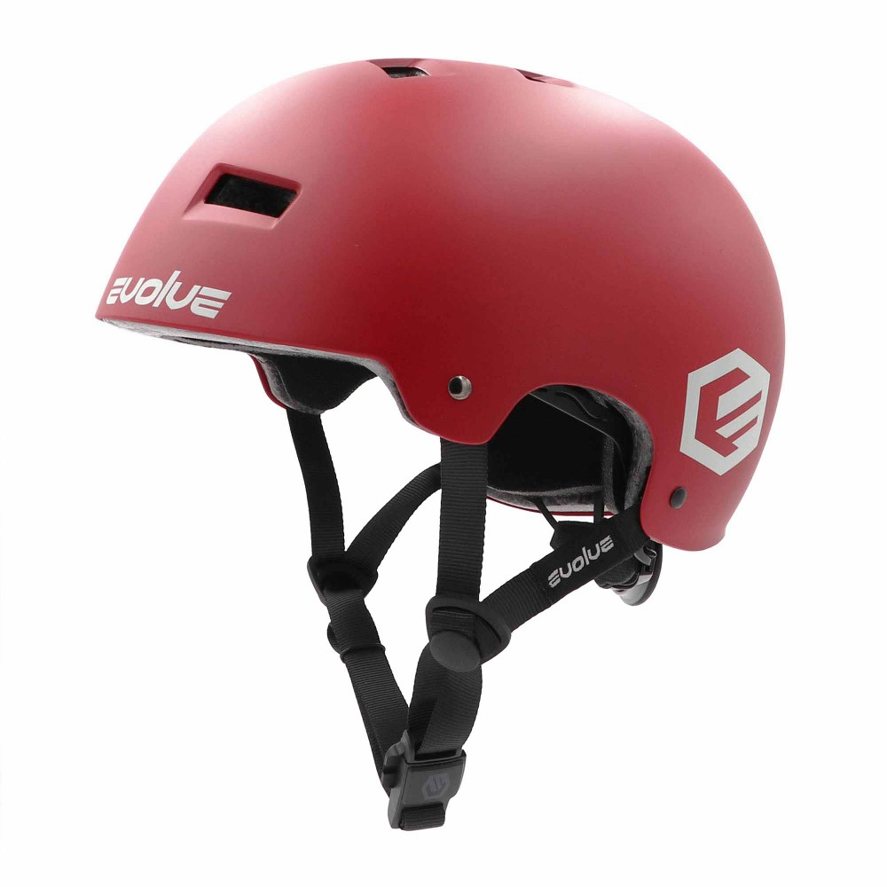 CASQUE EVOLVE CURB EVO - MATT BURGUNDY
