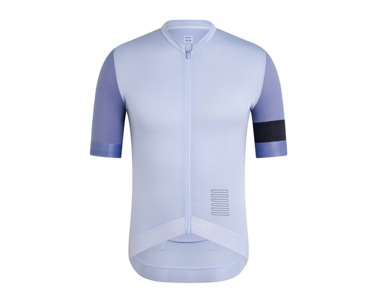 MAILLOT RAPHA PRO TEAM TRAINING JERSEY BLEU CLAIR