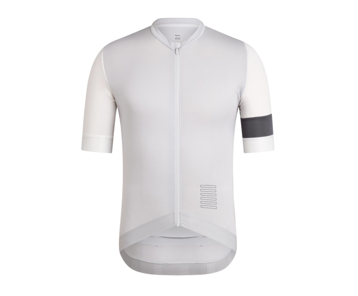 MAILLOT RAPHA PRO TEAM TRAINING JERSEY GRIS CLAIR