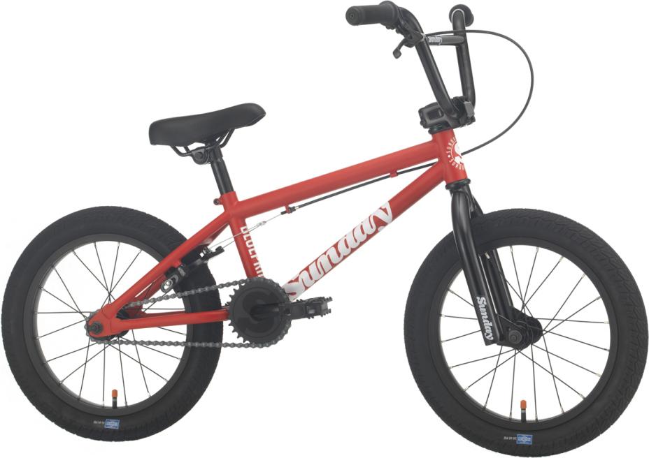 BMX SUNDAY BLUEPRINT 16 RED 2021