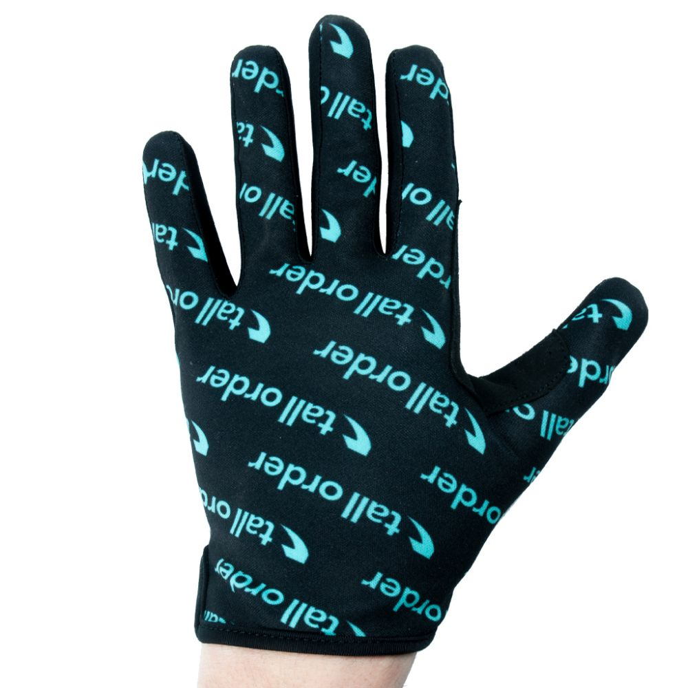 GANTS TALL ORDER BARSPIN BLACK/TEAL ALL OVER