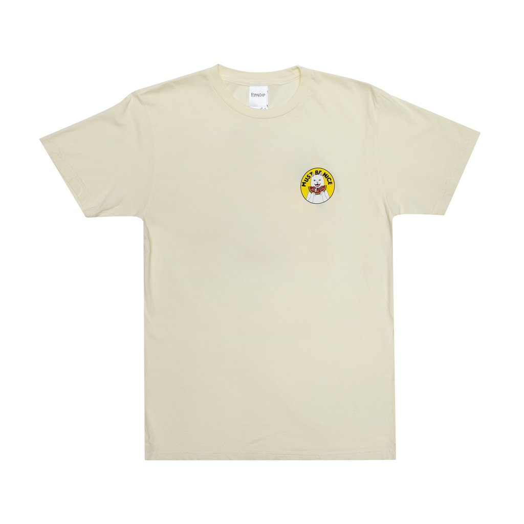 TEE SHIRT RIPNDIP DELICIOUS TAN