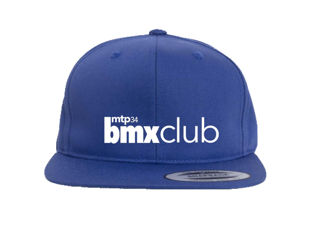 CASQUETTE MTPBMX RIDE UK PRO STYLE BLUE JUNIOR