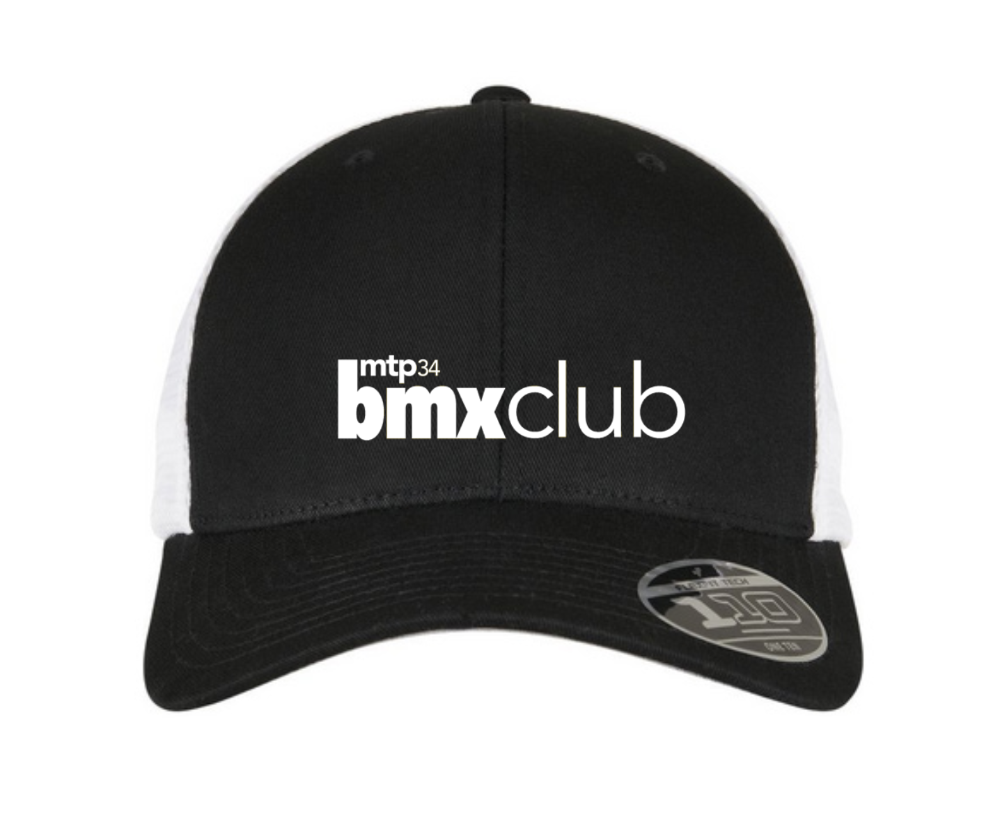CASQUETTE MTPBMX RIDE UK FITTED SNAP BACK/WHITE