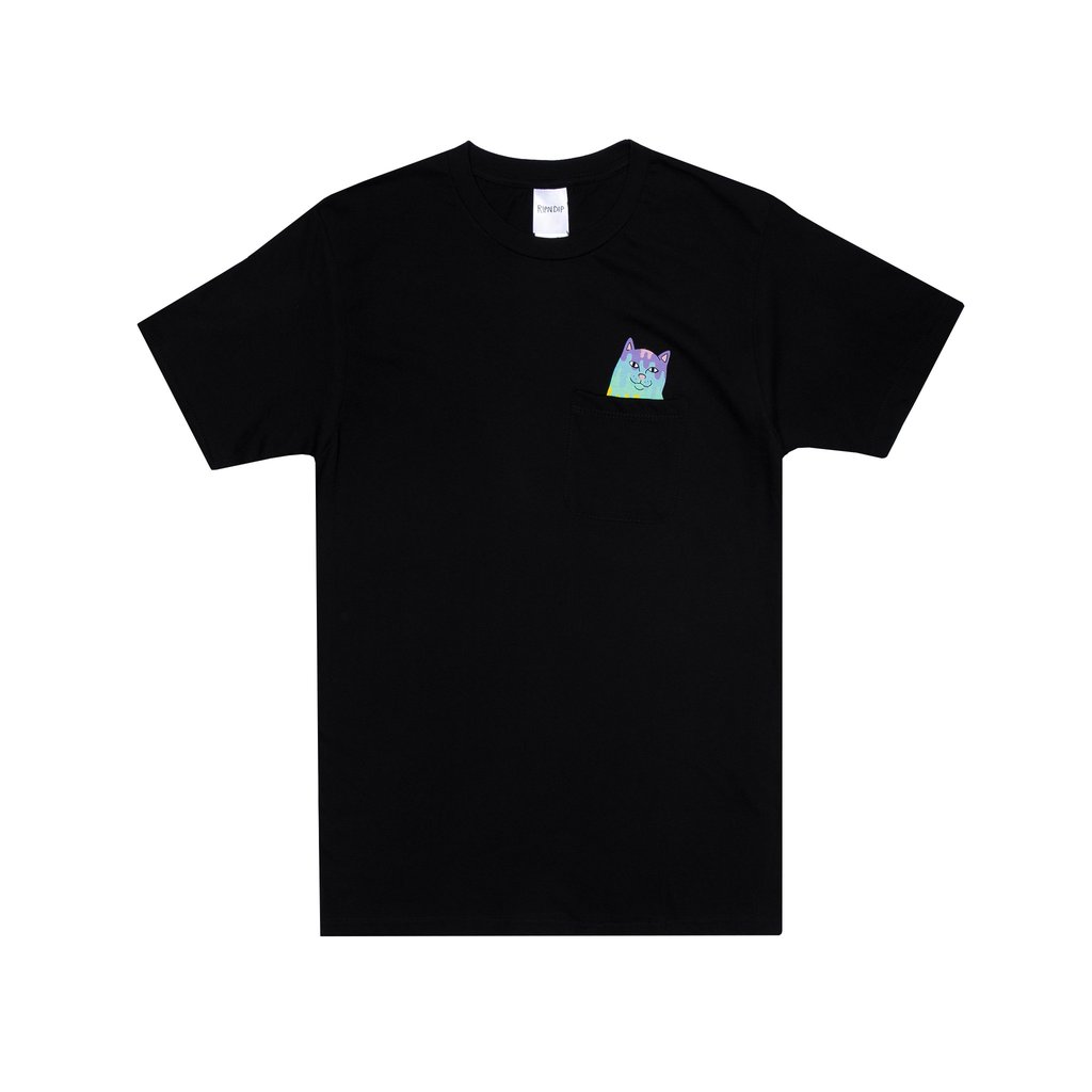 TEE SHIRT RIPNDIP RAINBOW NERM POCKET TEE