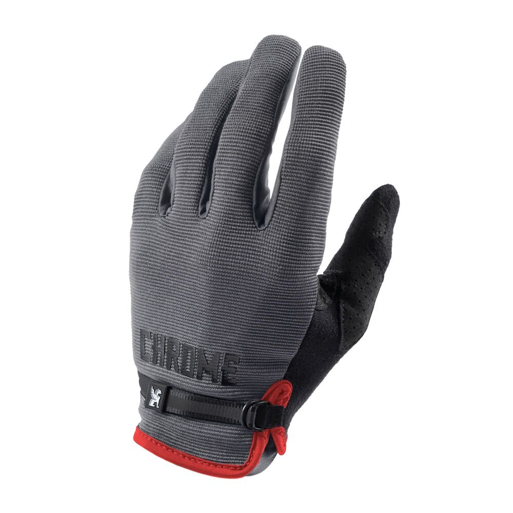 GANTS CHROME CYCLING GRIS