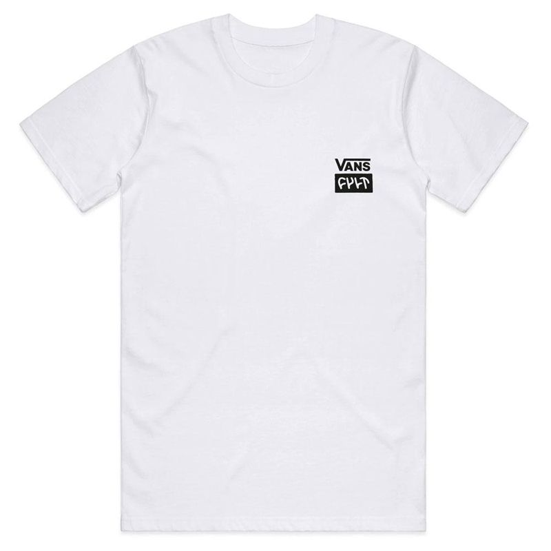 TEE SHIRT VANS-CULT WHITE