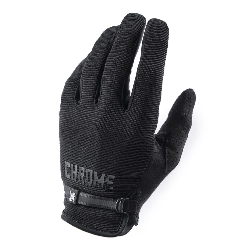 GANTS CHROME CYCLING BLACK