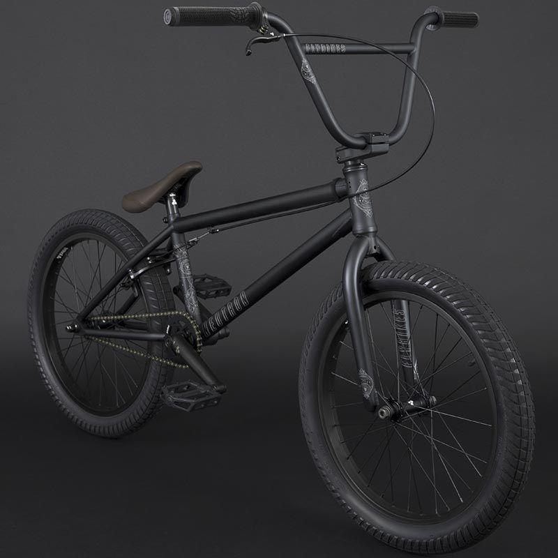 BMX FLYBIKES NEUTRON 20.75 RHD FLAT BLACK 2021