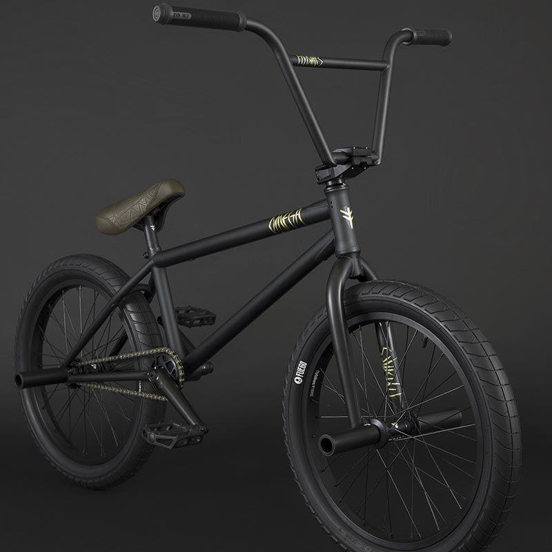 BMX FLYBIKES OMEGA FREECO 21 RHD FLAT BLACK 2021