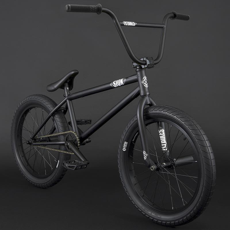 BMX FLYBIKES SION 21 RHD FLAT BLACK 2021