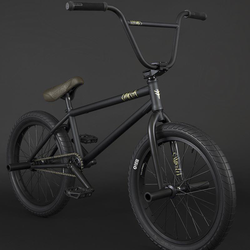 BMX FLYBIKES OMEGA CASSETTE 21 RHD FLAT BLACK 2021