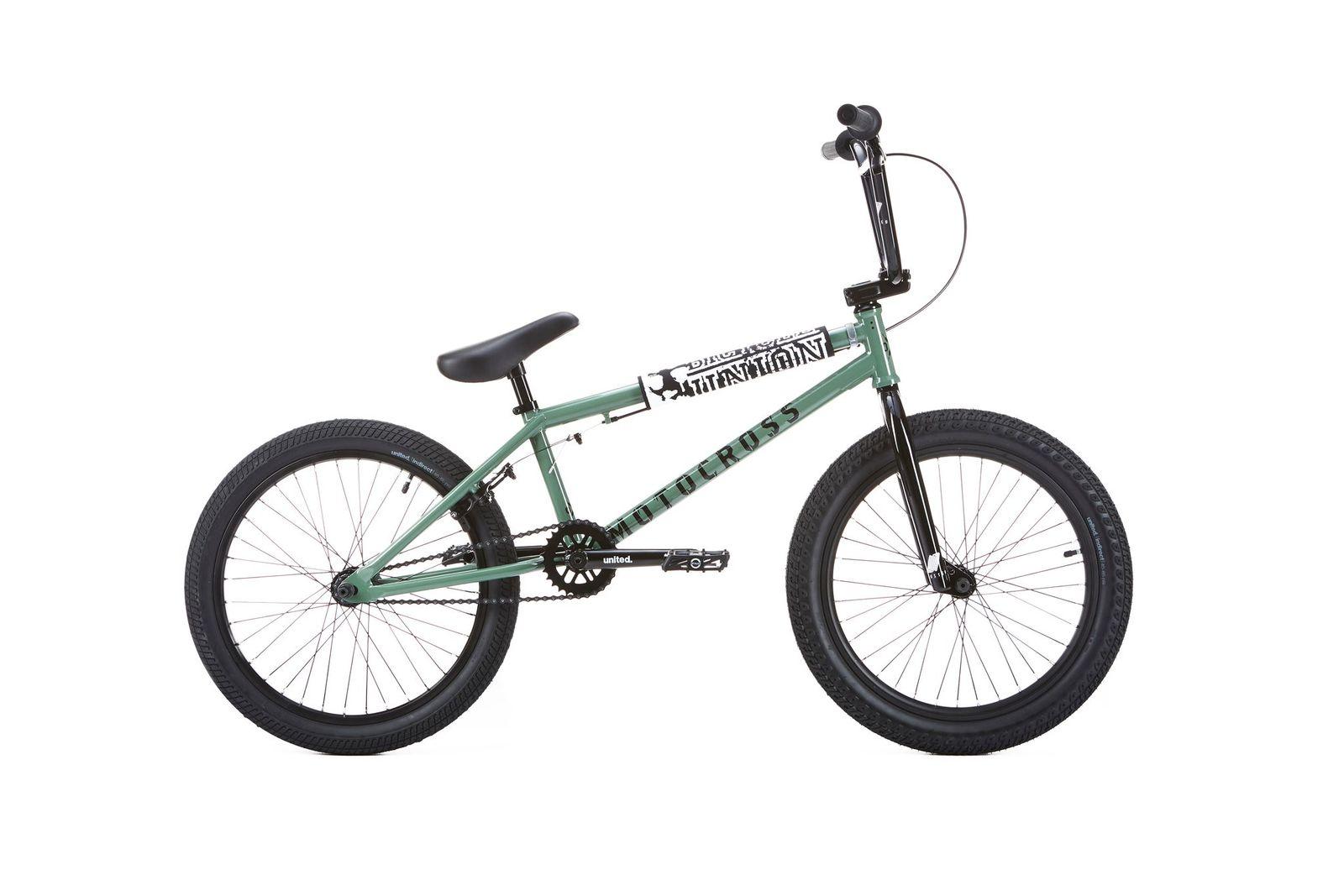 BMX UNITED MOTOCROSS 21\'\' NATO GREEN