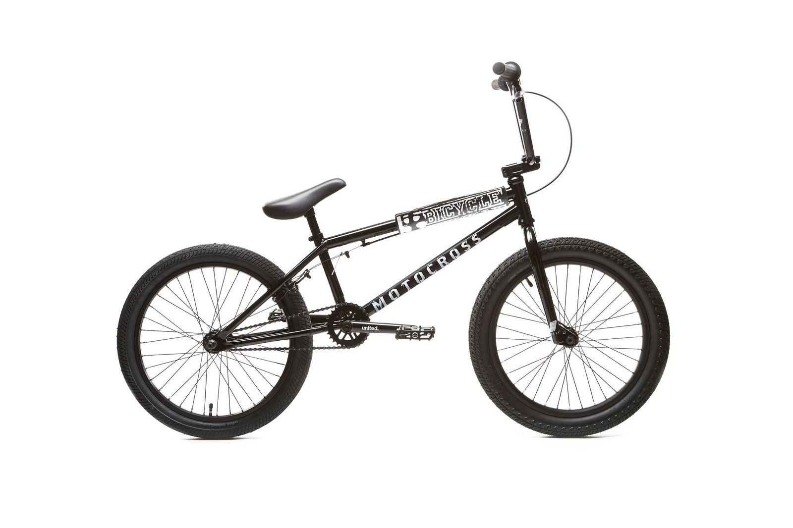BMX UNITED MOTOCROSS 21\'\' BLACK