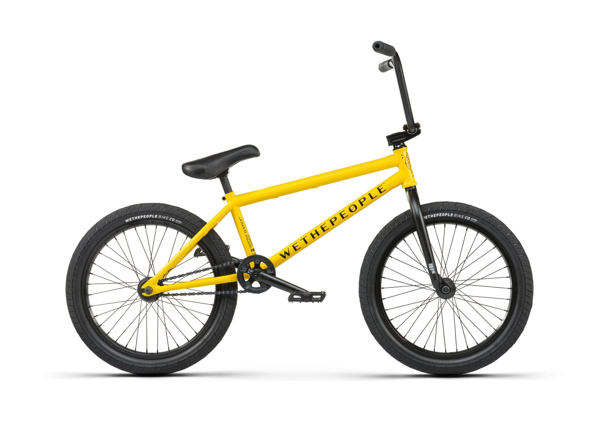 BMX WETHEPEOPLE JUSTICE 20.75 MATT CAB YELLOW 2021