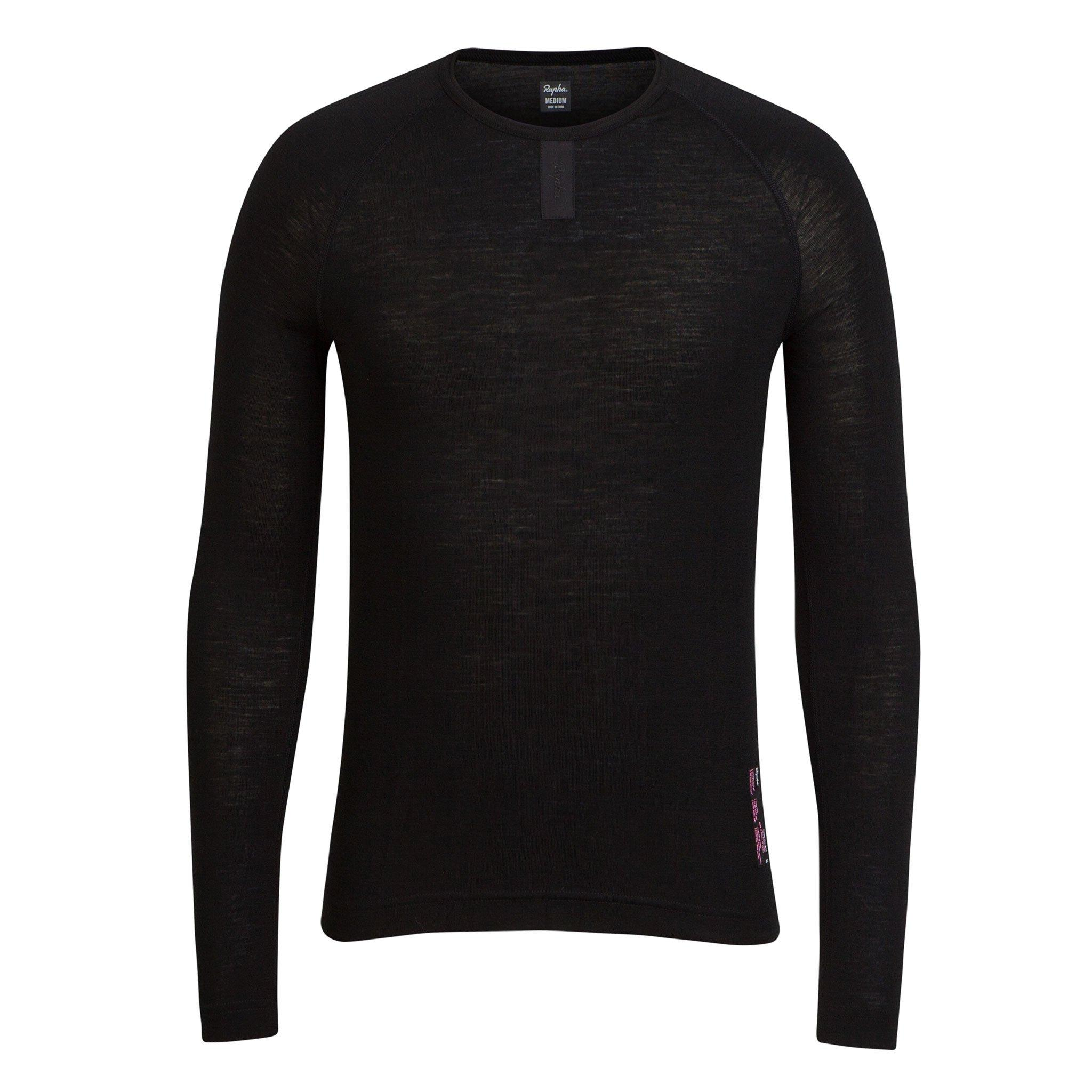 SOUS COUCHE RAPHA BASE LAYER LONG SLEEVE NOIR