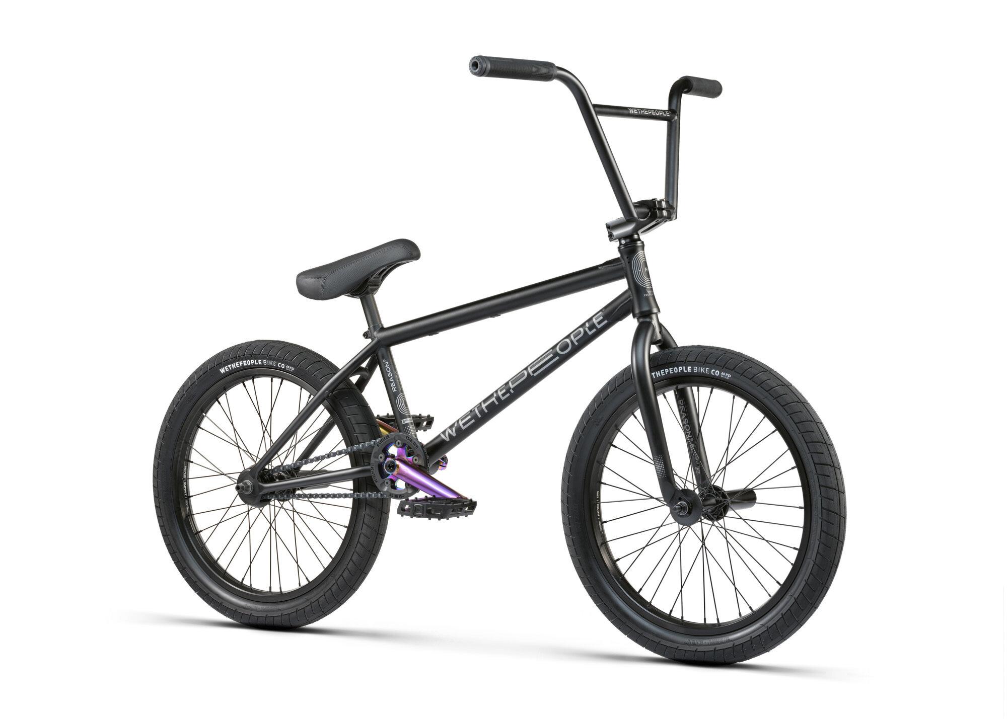 BMX WETHEPEOPLE REASON 20.75 MAT BLACK 2021