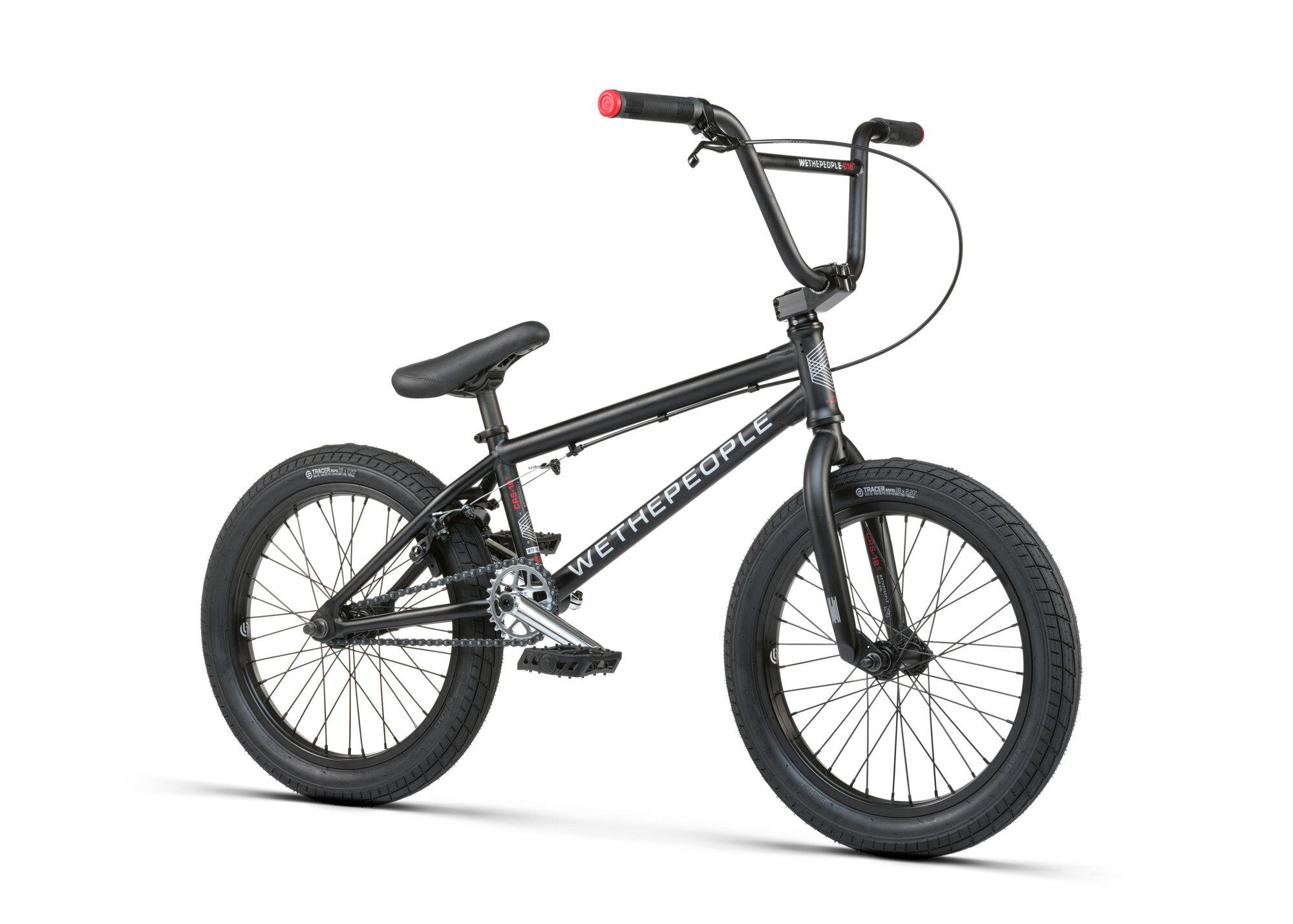 BMX WETHEPEOPLE CRS 18 BLACK 2021