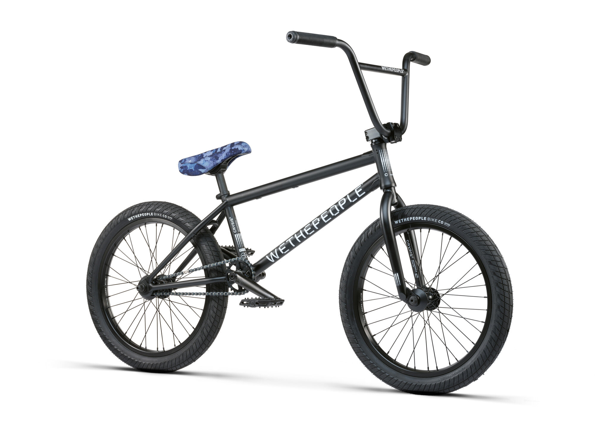 BMX WETHEPEOPLE CRYSIS MATT BLACK 2021