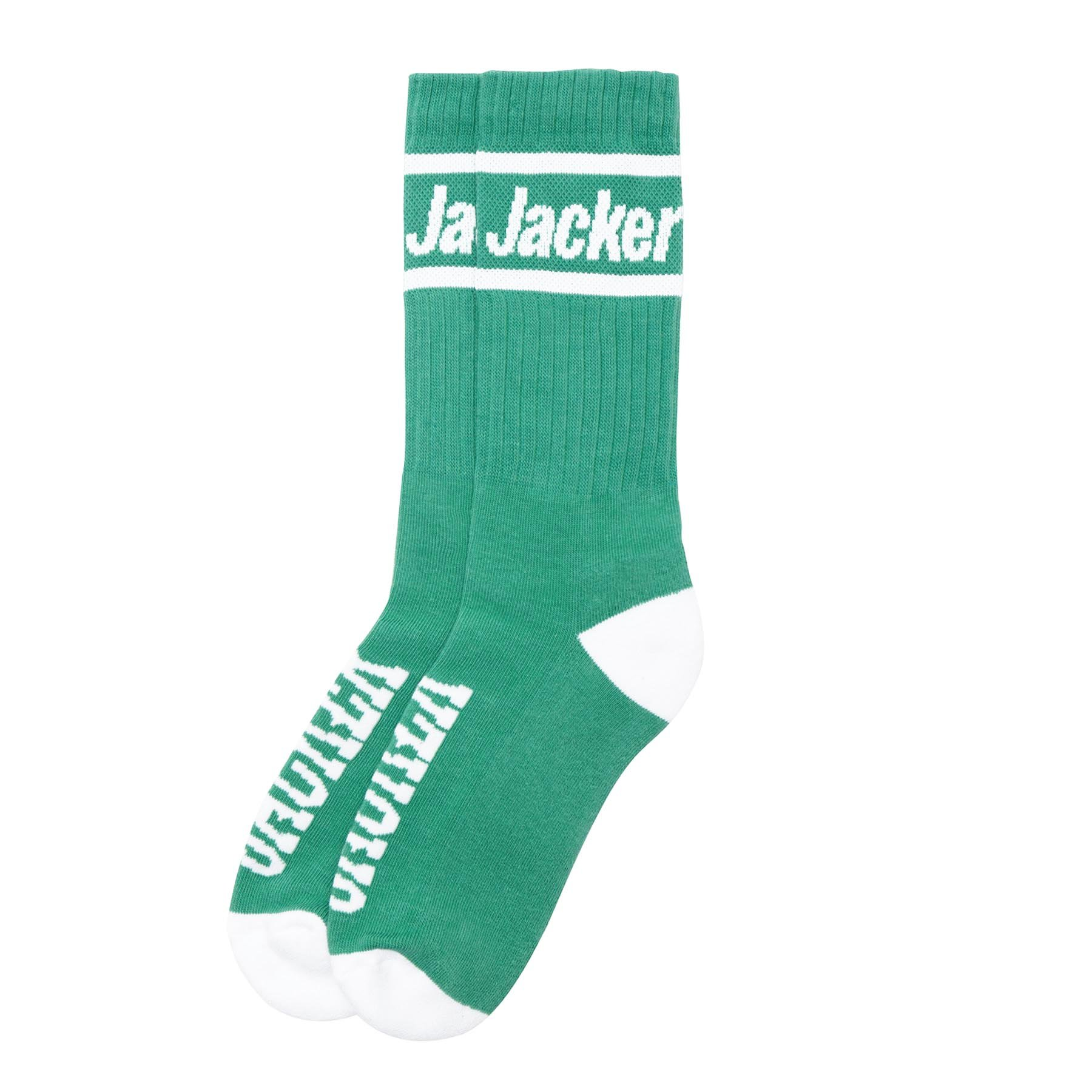 CHAUSSETTES JACKER AFTER LOGO TEAL