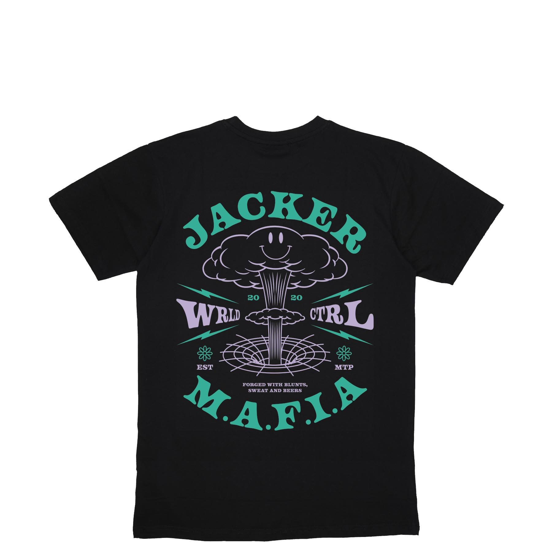 TEE SHIRT JACKER NUCLEAR BLACK