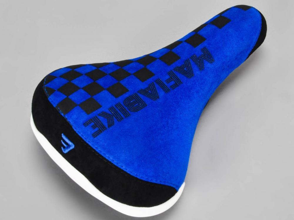 SELLE MAFIABIKE CHECKBOARD BLUE
