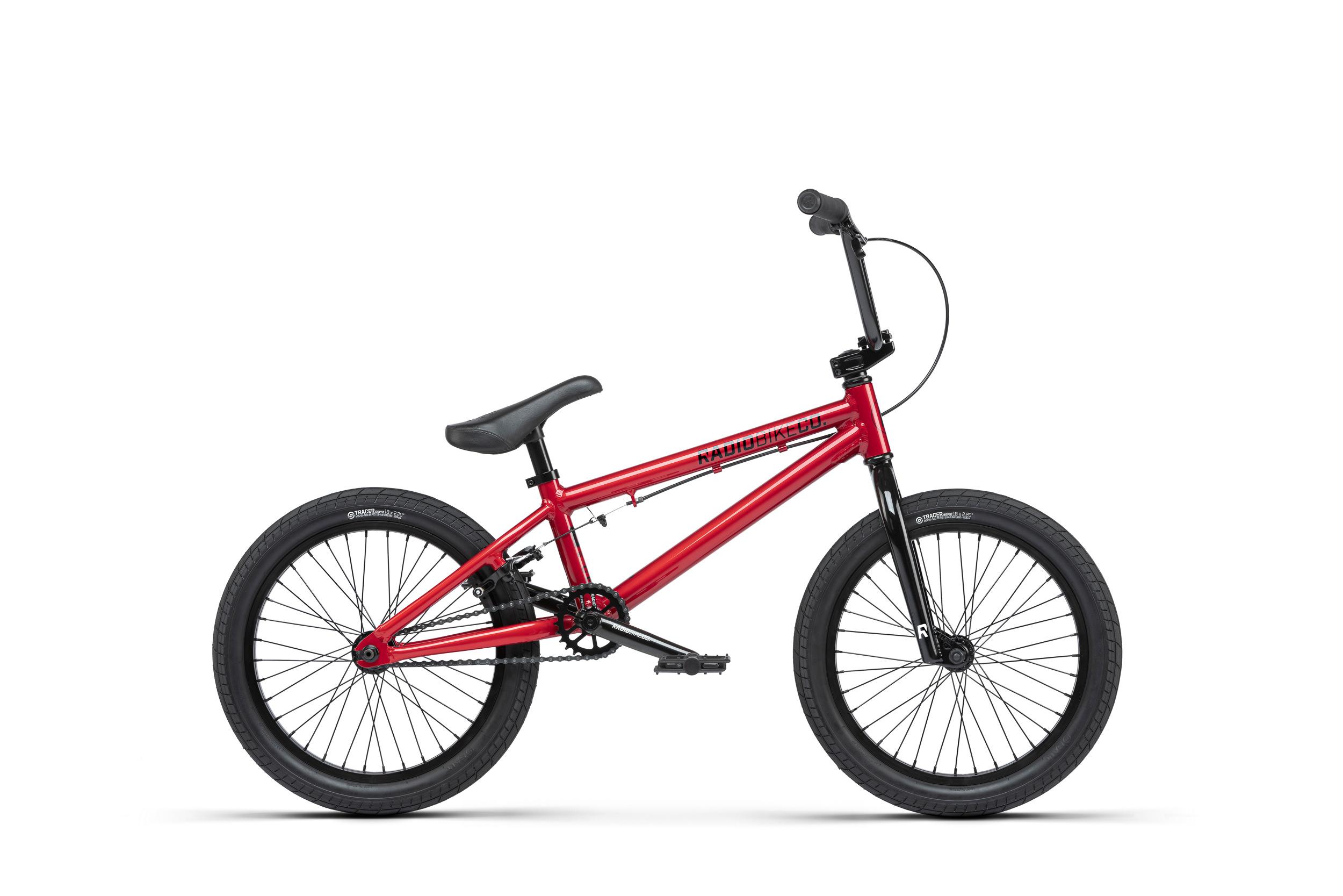 BMX RADIO BIKES DICE 18 CANDY RED