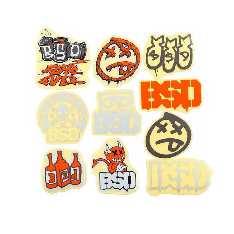 PACK STICKERS BSD 2021