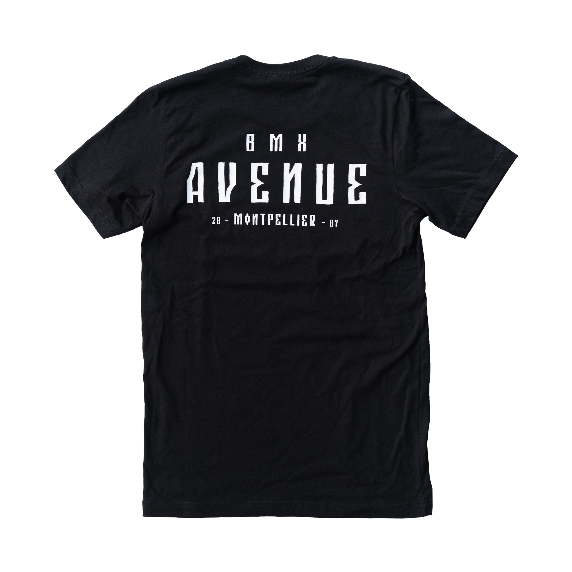 TEE SHIRT BMX AVENUE BLACK 2021