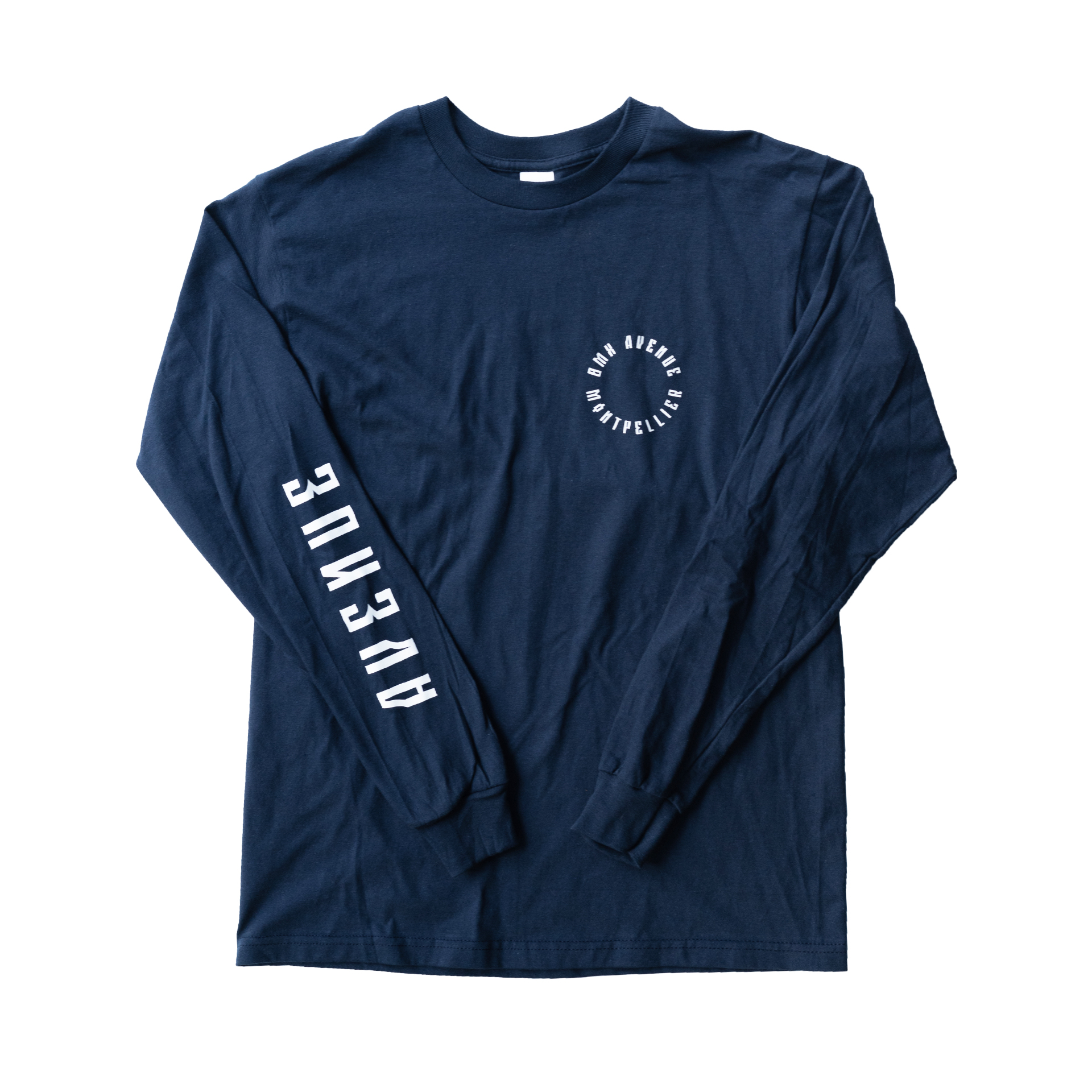 TEE SHIRT BMX AVENUE ML NAVY 2021
