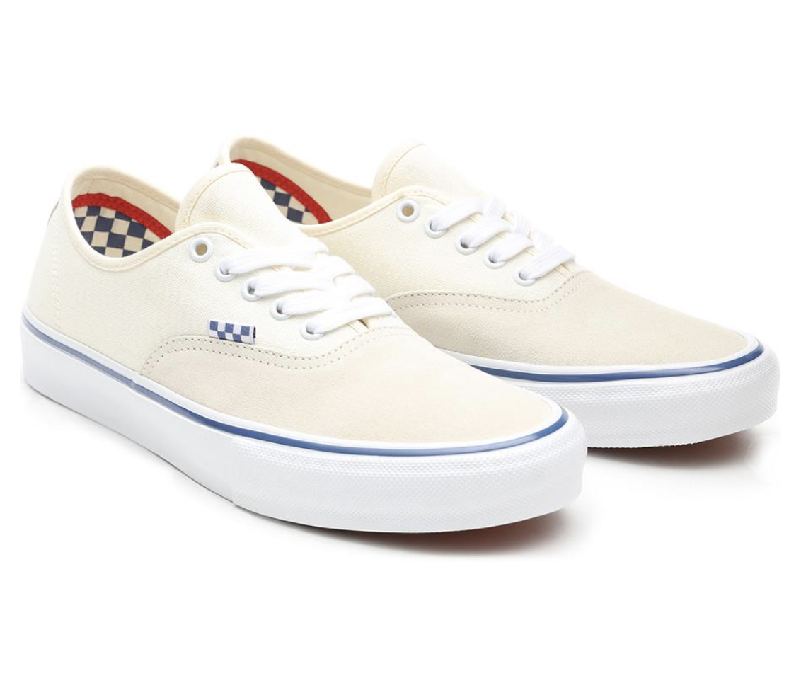 SHOES VANS SKATE AUTHENTIC OFF WHITE