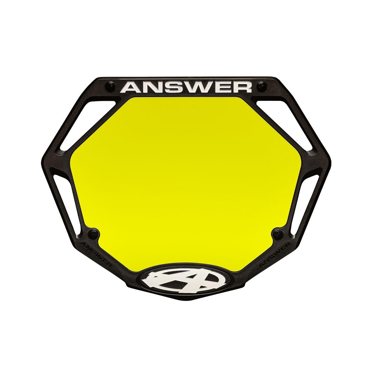 PLAQUE À NUMÉROS ANSWER 3D MINI