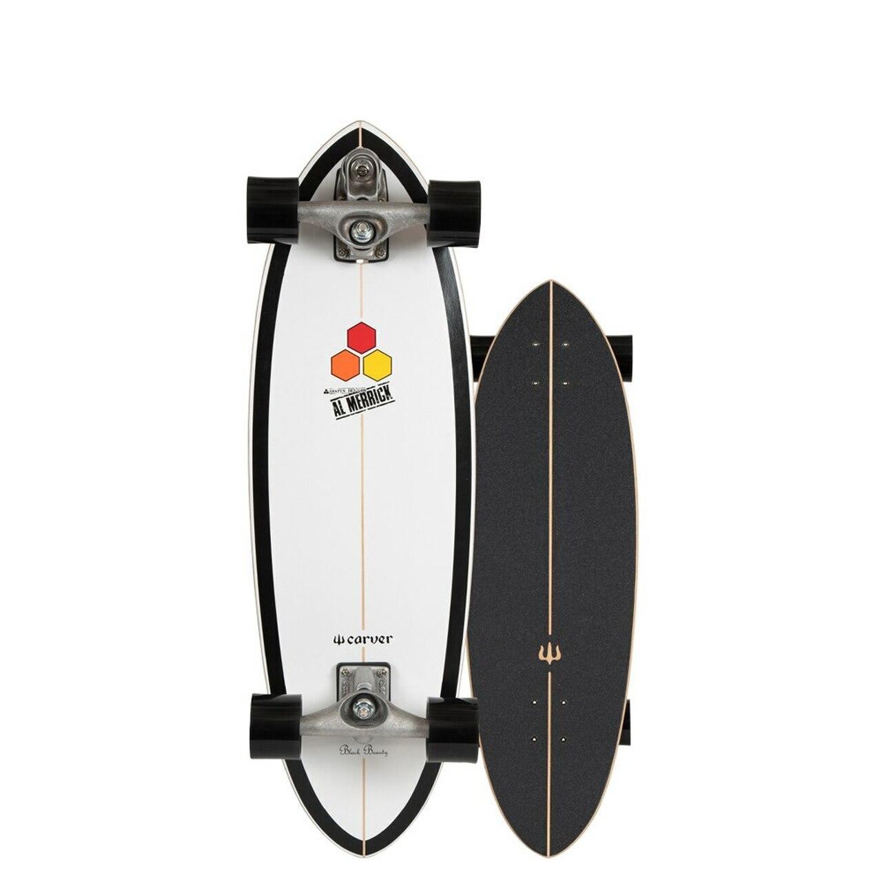 SURFSKATE CARVER BLACK BEAUTY 31.75 C7