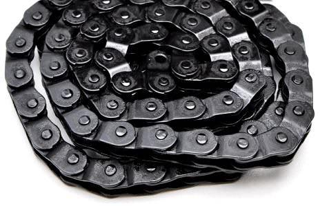 Chaine YBN MK918 demi maillons black
