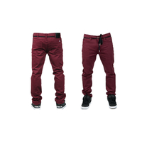 Pantalon SUBROSA Venom denim oxblood