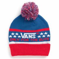 Bonnet VANS Elite red/white/blue