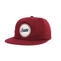 Casquette BRIXTON Reed burgundy