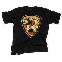 Tee shirt SUBROSA Pizza shield black