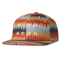 Casquette ALTAMONT Peyote ball cap red gold