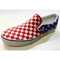 Shoes VANS Classic slip-on Van Doren red/blue/white