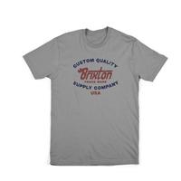 Tee shirt BRIXTON Erwin grey standard