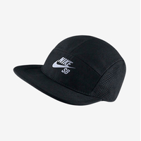Casquette NIKE SB Performance 5 panel black/reflective silver