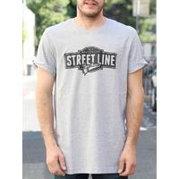 Tee shirt BMX AVENUE Street Line grey