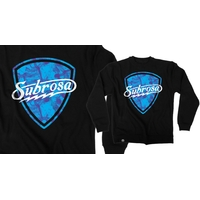 Sweat crew SUBROSA Skurp black