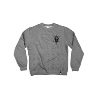 Sweat crew SHADOW Palladium gum metal grey