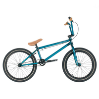 "Bmx UNITED KL40 21"" trans teal 2016"