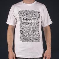 Tee shirt Merritt Gutter blanc