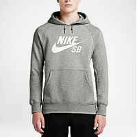 Sweat capuche NIKE SB Icon Crackle heather grey