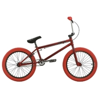 "Bmx SUBROSA Tiro 20.5""  gloss red/red 2016"